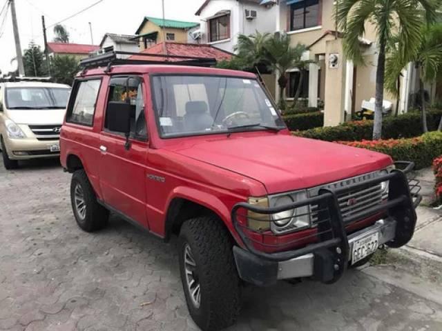 Mitsubishi Montero 2500cc $4.500